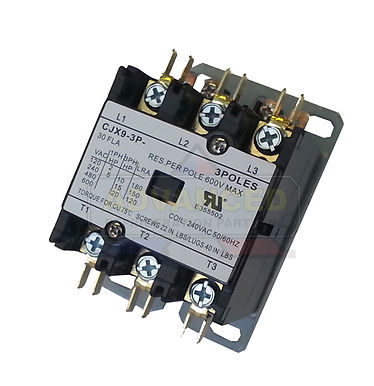 General Purpose Contactor 3 Pole 60A (Various Voltage)