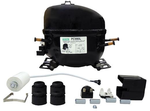 Supco SPC990L Low Temp Compressor 1/4 HP, R134a, 115V