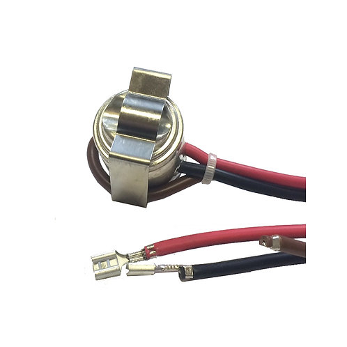 Thermostat 3-Wire Open 55°F Close 35°F Tube Mount