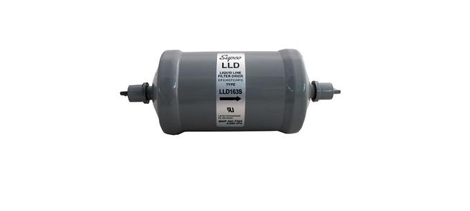 """LLD163 Liquid Line Drier 3/8"""" SAE"""