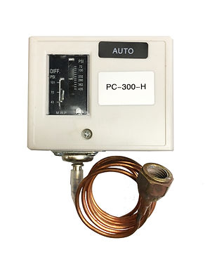 Adjustable Fan Cycle Switch, High Pressure Control (PC-300-H)