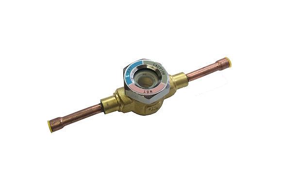"Liquid Moisture Indicator Sight Glass 1/4"" ODF"