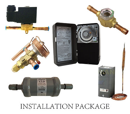 Installation Package for Walk-In Freezers