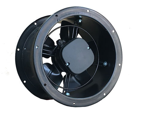 """Tube Exhaust Fan 10"""" to 15.7"""" Blade"""