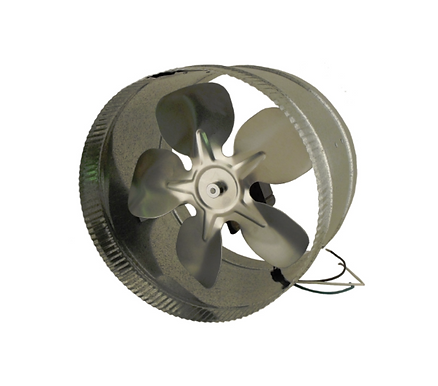 """Duct Booster 10"""" Energy Saving 115V"""