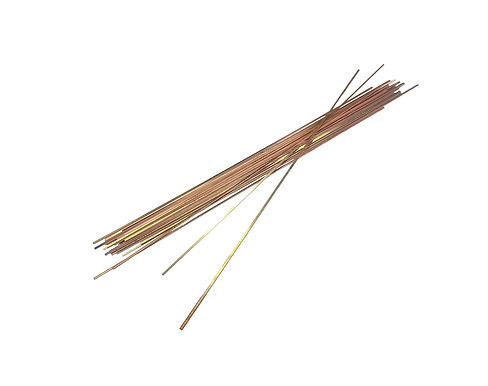 "30 pcs Copper Welding Alloy Rods HARRIS 1/8""x18"""
