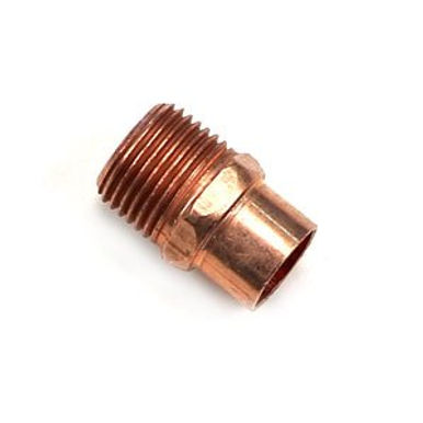 Copper Male Adapter(Size 1)