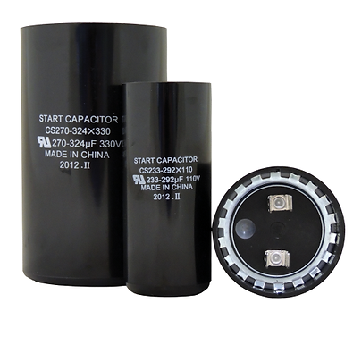 Round Start Capacitor CS216-259X330