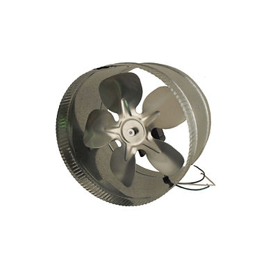 """Duct Booster 8"""" Energy Saving 115V"""
