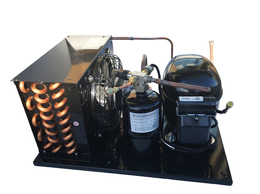 Indoor  NEK6210GK Unit 1/2 HP Med Temp R404A, 115V