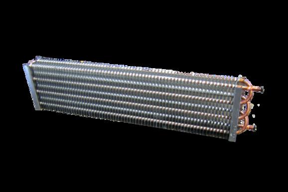 "Gravity Coil 1/2"" DIA. 2 Row 3 Tubes 58.5""L"