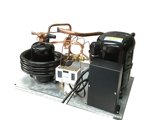 Water-Cooled QT AHA2445AXD Unit 1 HP LowTemp, R12,  220V-1