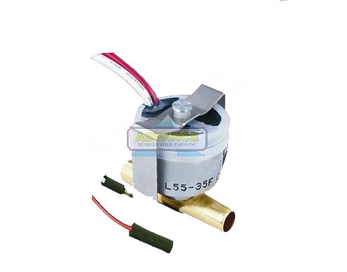 Thermostat 2-Wire Open 55°F Close 35°F Tube Mount
