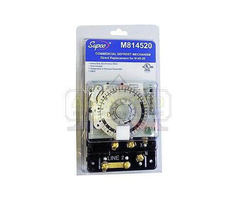 Supco M814520 Defrost Timer Mechanism 240V