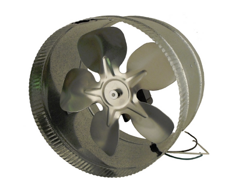 """Duct Booster 12"""" Energy Saving 115V"""