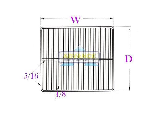 Wire Shelf 23 x 25 2T-Bar