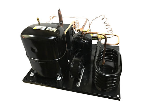 Water Unit QT AVA2512ZXT, 3 HP, R404A, 220V/3PH