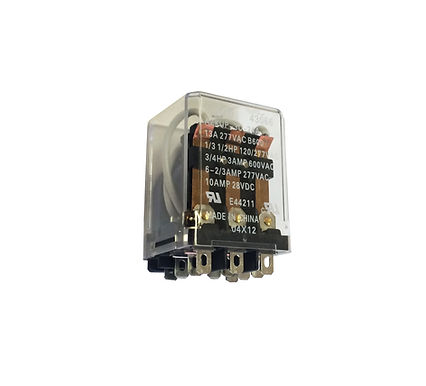 Enclosed Switching Relay 24~240VAC, 3 Coil Types