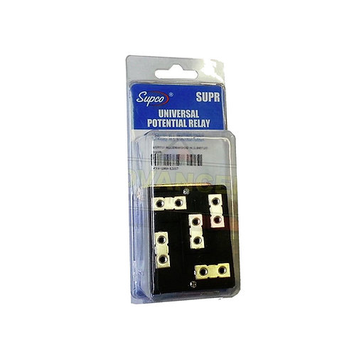 SUPR Universal Adjustable Potential Relay (To 5HP)