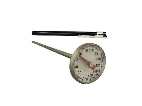 """Pocket Cooler Thermometer 1"""" DIAL -40°F to 160°F"""