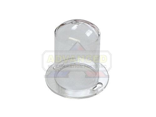 "Commercial Acrylic Light Bulb Guard 2-3/4"" DIA"