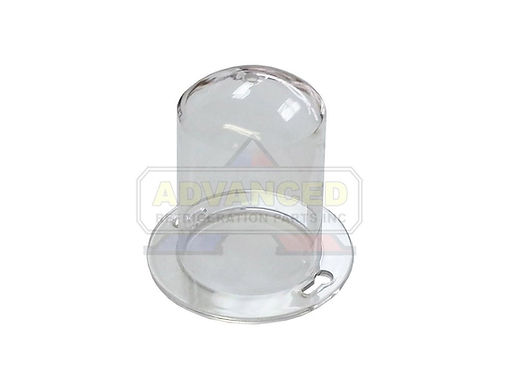 "Commercial Acrylic Light Bulb Guard 2-3/4"" DIA"