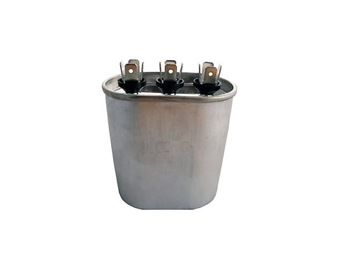 Oval Dual Run Capacitor CD25+3X370V