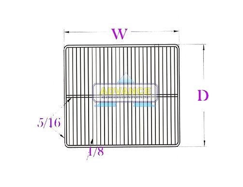 Wire Shelf 27 x 25 2T-Bar