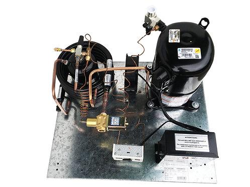 Water-Cooled QT AWA7515ZXD Unit 2 HP, R404A 220V/1PH