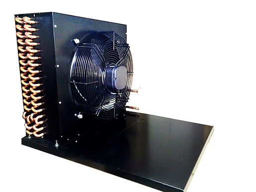 Cond. D Set Coil, Fan and Base for 1.5 HP Unit