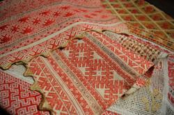 Рушник-доріжка з вишивкою, Марії Заньковецької.