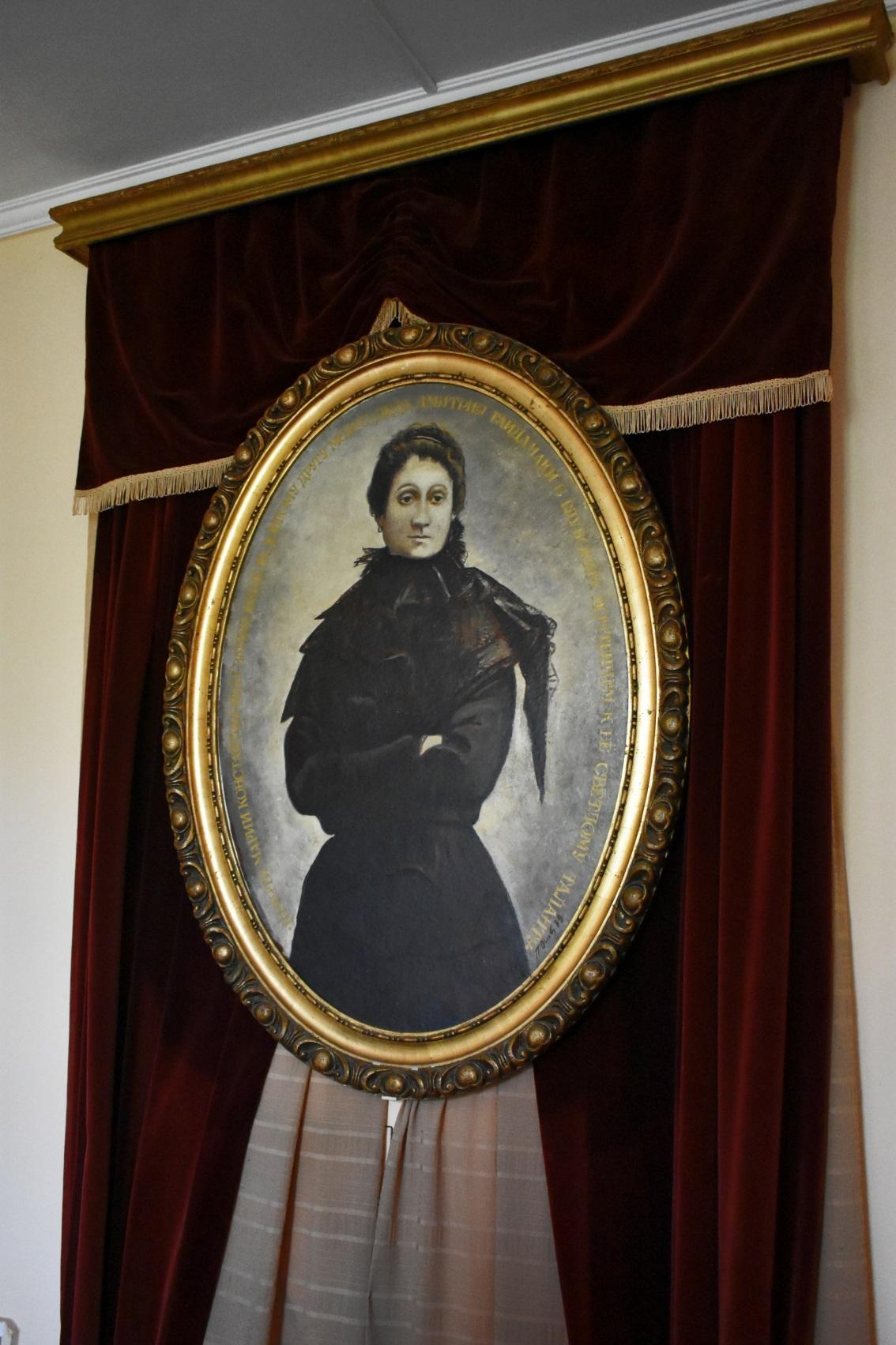 Портрет М. Заньковецької художника П. Осовського.