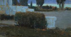 «Ніч у Криму» художник В. Кричевський, написано маслом.