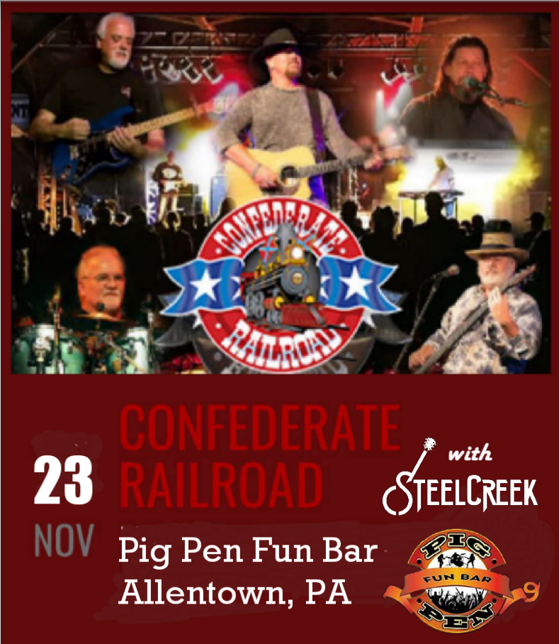 Opening for Confederate Railroad