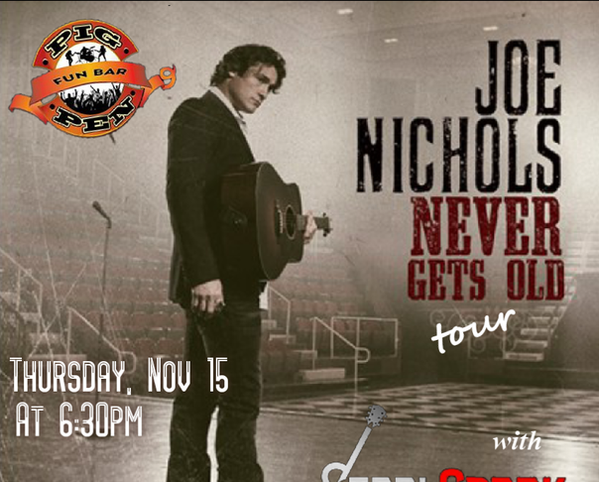 Opening for Joe Nichols