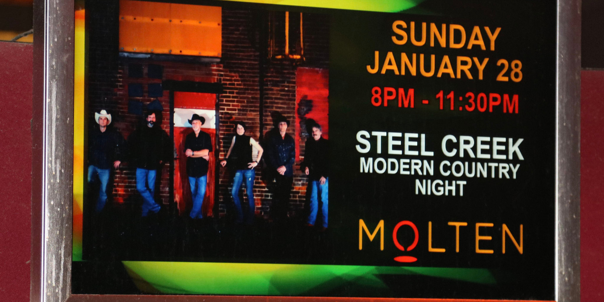 Molten Lounge at Sands Casino