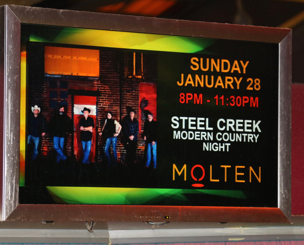 Molten Lounge at Wind Creek Casino