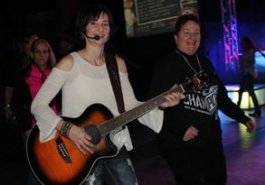 Performing at the Pig Pen Fun Bar