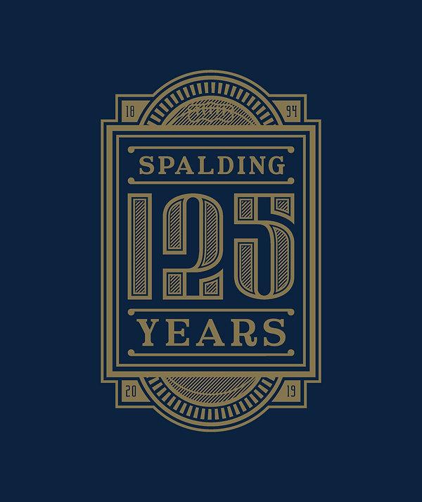 Spalding 125th Logo