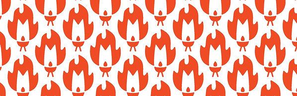 Firebugs Barbecue Logo Pattern