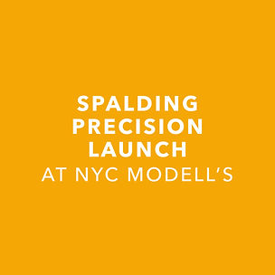 Spalding Precision Launch at NYC Modell's