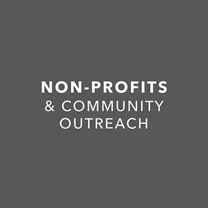 Non-Profit & Community Outreach Projects