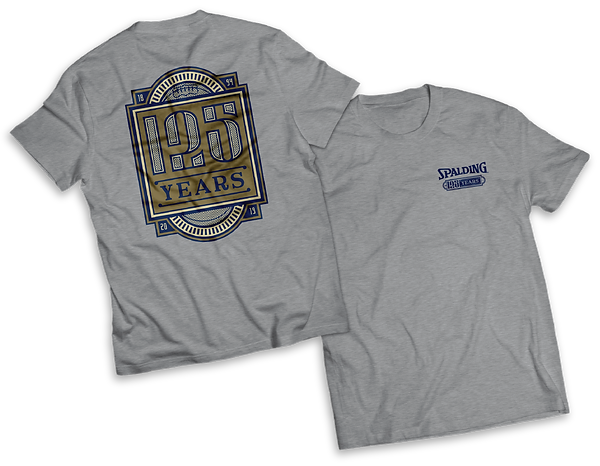Spalding 125th Anniversary Tee Shirt