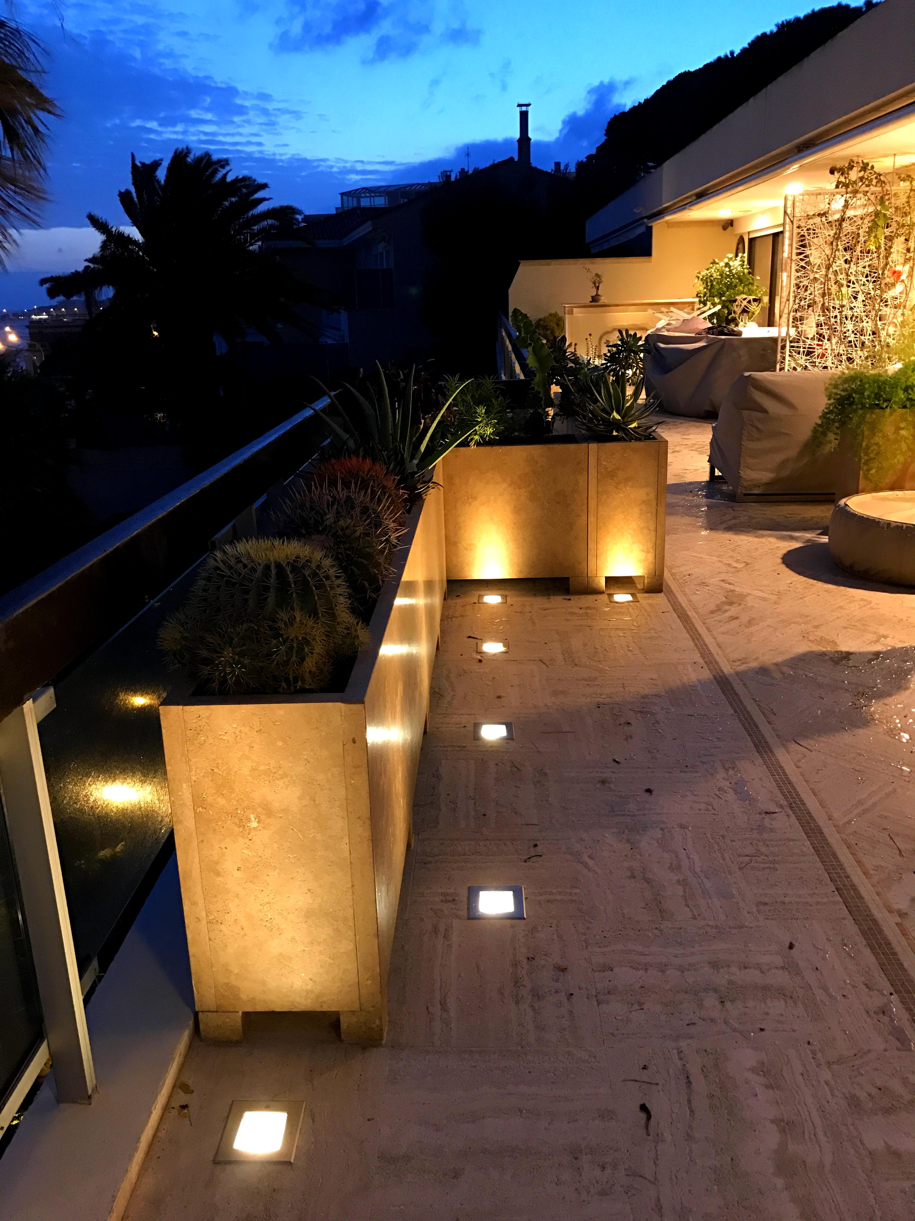 installation de spot éclairage nice