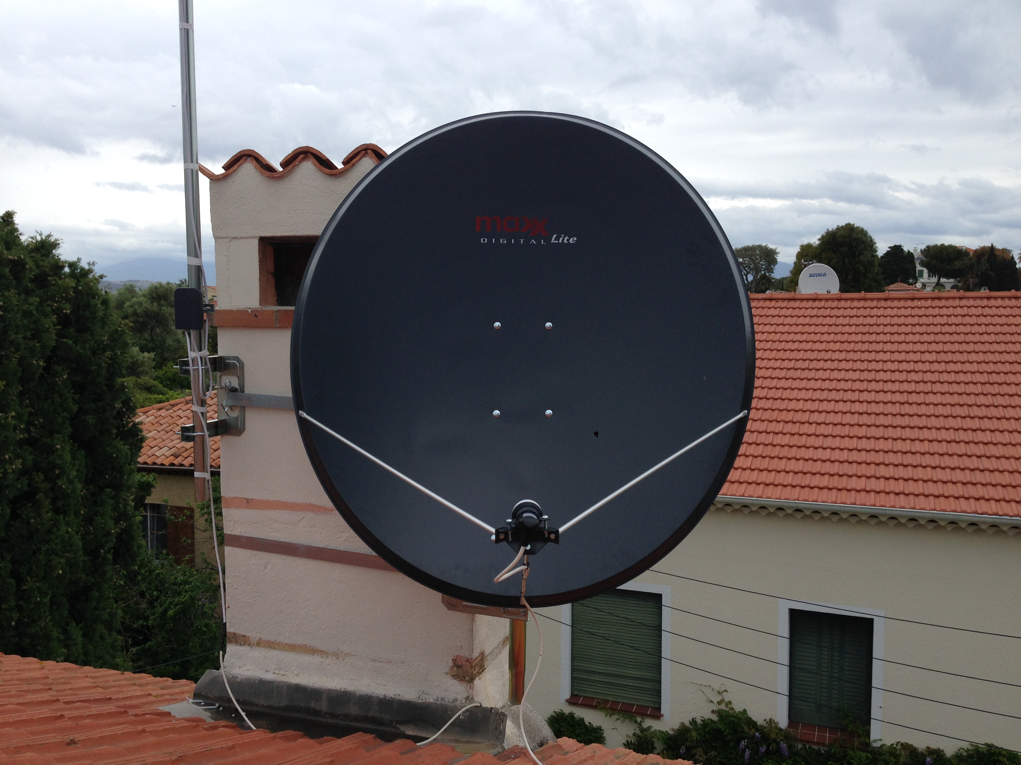 installation parabole satellite nice