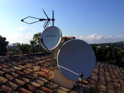 installation satellite Antibes