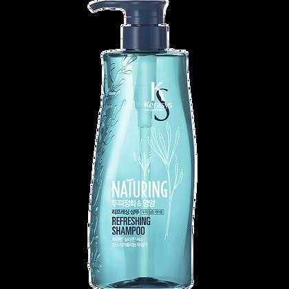 Шампунь для ухода за кожей головы - KERASYS Naturing Refreshing Shampoo