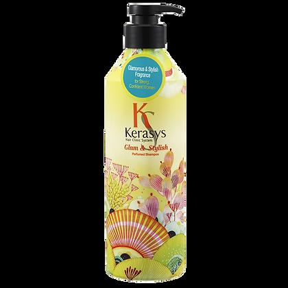 Шампунь для блеска и эластичности - KERASYS Glamor & Stylish Shampoo