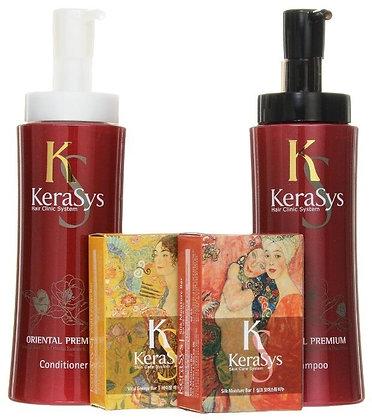 Подарочный набор для всех типов волос – KERASYS Oriental Premium