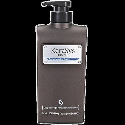 Шампунь мужской освежающий - KERASYS HommeDeep Cleansing CoolShampoo